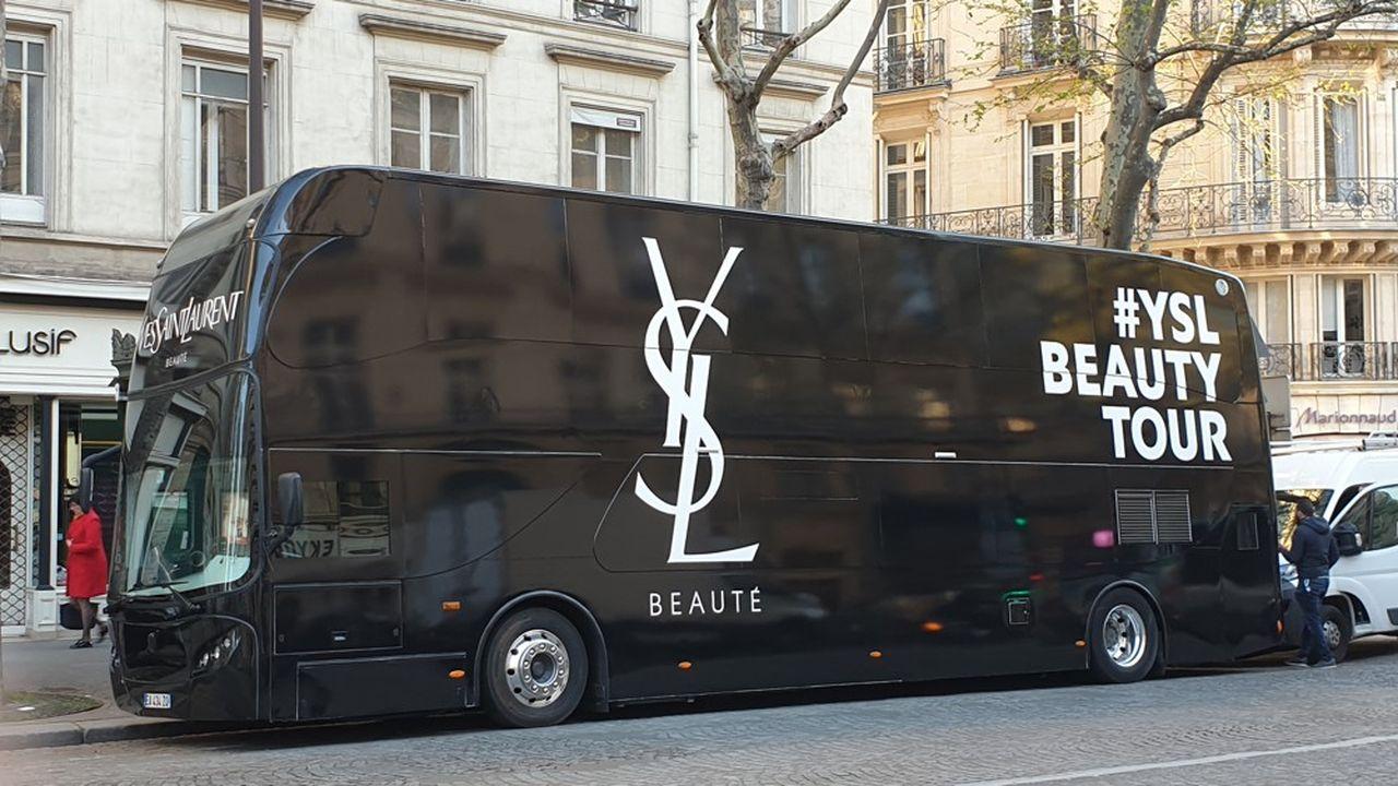Une opération d'animation pour Yves Saint Laurent conçue par Globe, en partenariat avec Marionnaud.