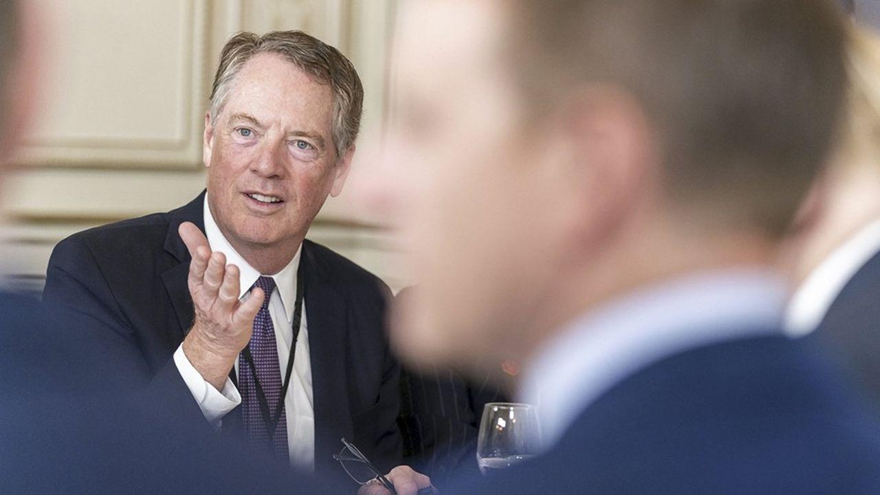 Le représentant américain au commerce, Robert Lighthizer, ne ferme pas la porte à une solution à l'amiable négociée avec les Européens au sujet des subventions dans l'aéronautique.