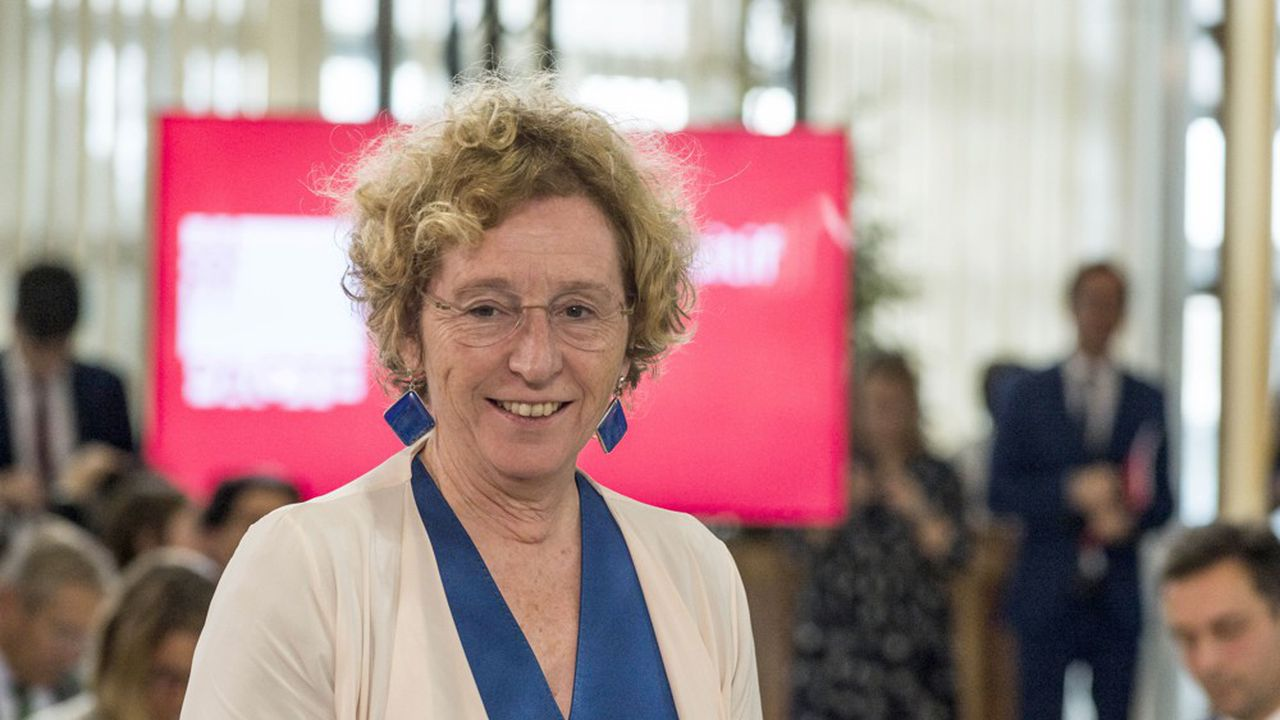 Muriel Pénicaud, ministre du Travailo.