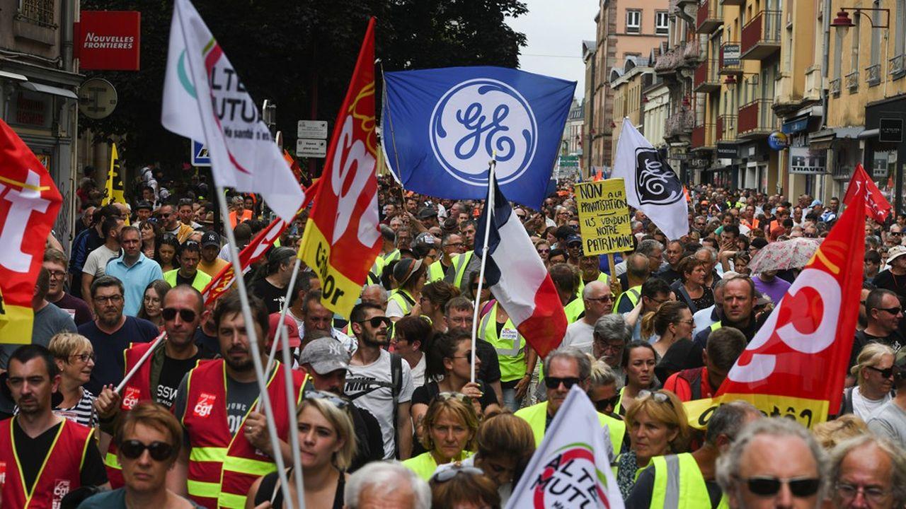 Avec 642 postes en moins à Belfort, les syndicats ont des craintes pour la pérennité du site.