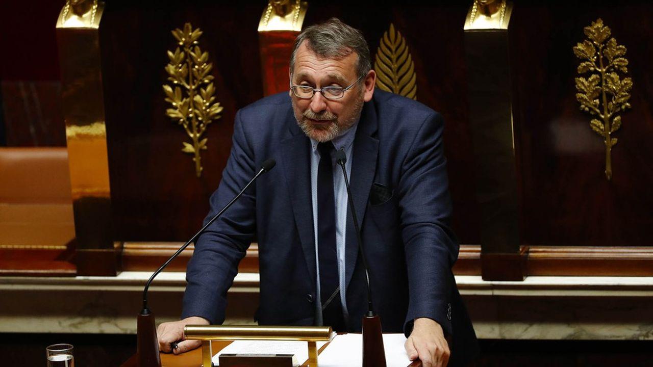 Joël Giraud, député LREM des Hautes-Alpes, veut également amender le dispositif de suppression de l'avantage fiscal pour le gazole non routier.