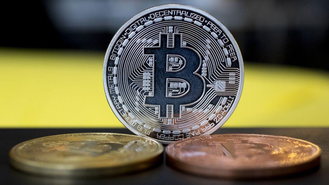 Le bitcoin à 8.267dollars (7.560,00euros), a vu son cours plus que doubler cette année