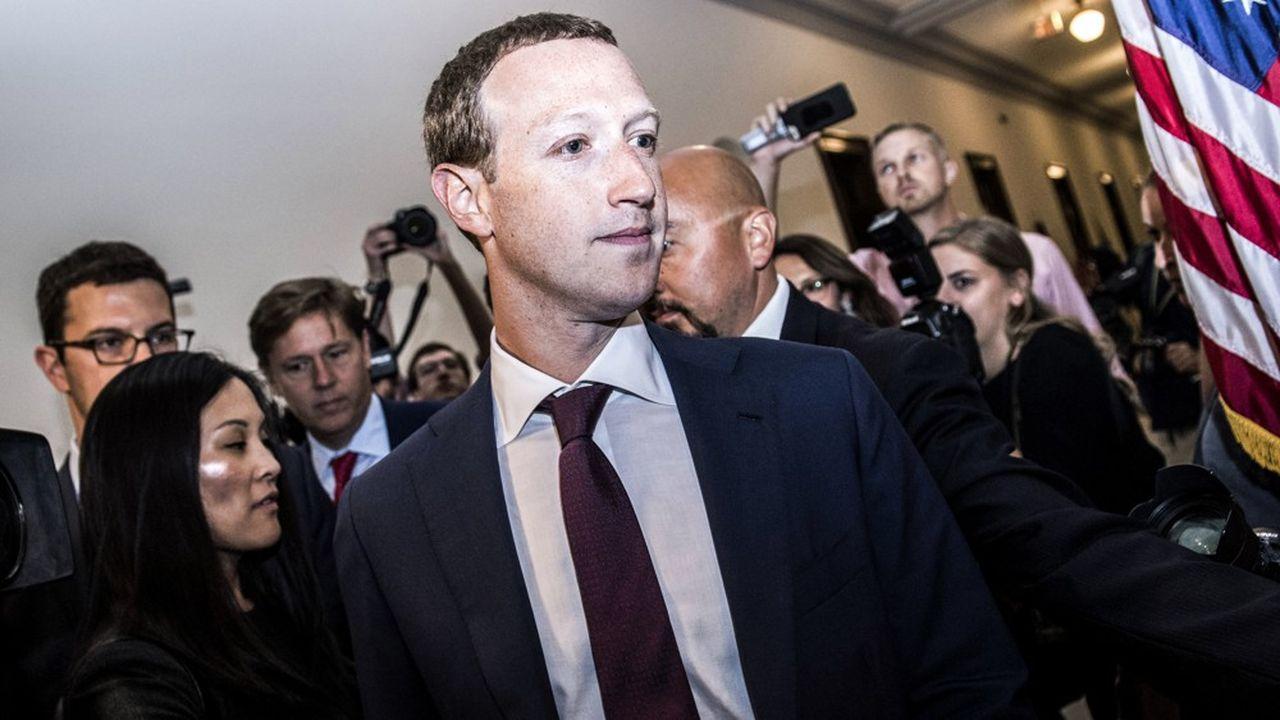 Marck Zuckerberg, patron de Facebook.