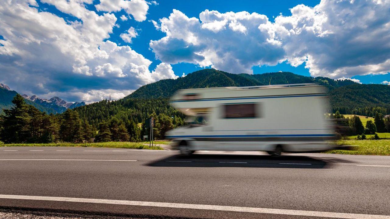 La France compte plus de 1 million de caravanes et de camping-cars pour 3,4 millions d'usagers