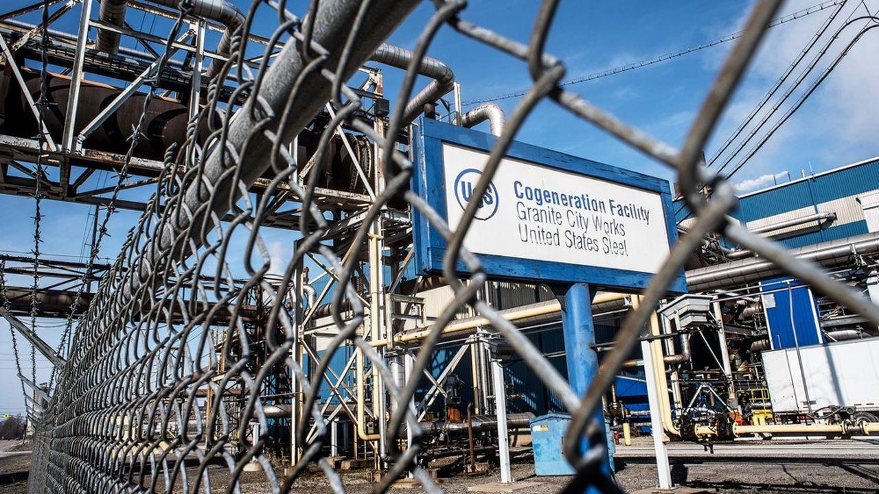 US Steel a dû fermer deux hauts fourneaux et revoir ses prévisions à la baisse.