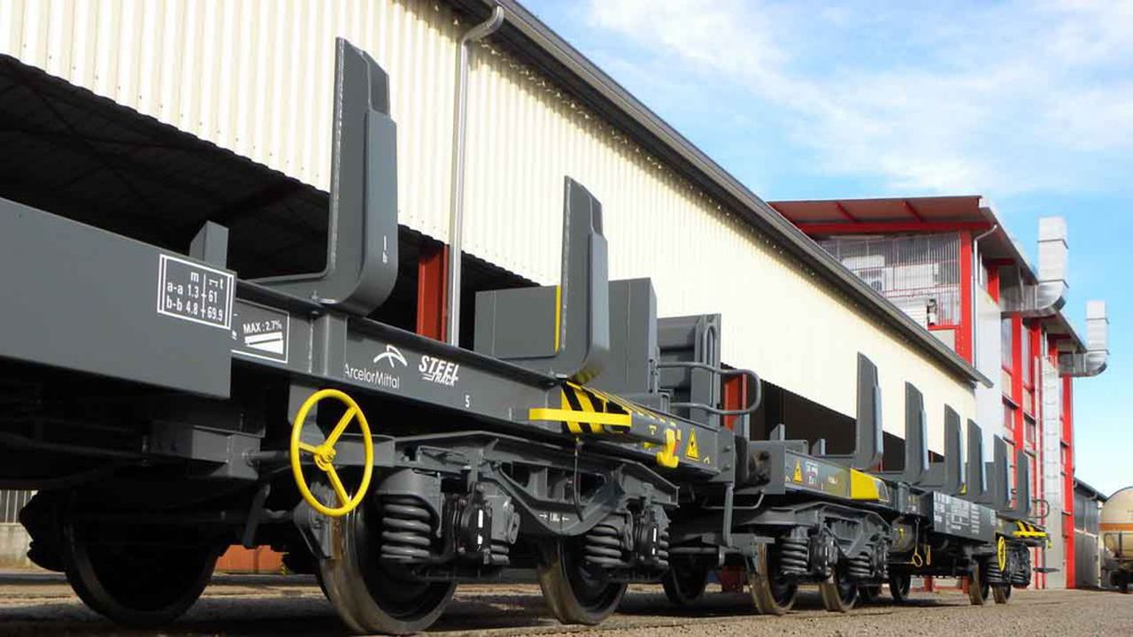 Inveho produit surtout des wagons pour le secteur de la sidérurgie, les produits du BTP et le transport de granulats.