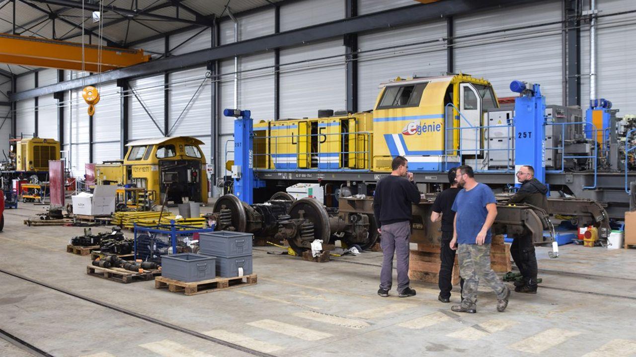 Le Constructeur De Bourgogne la filière des travaux ferroviaires serre les coudes en