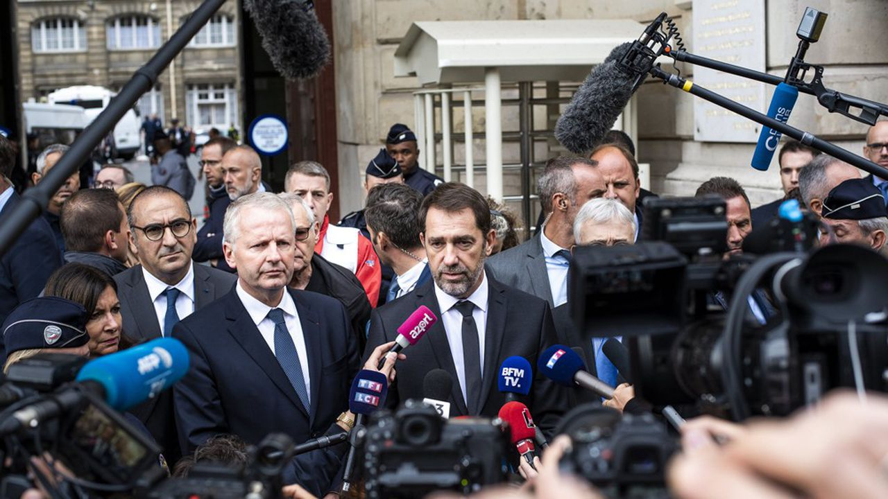 Le ministre de l'Intérieur, Christophe Castaner, a pointé ce dimanche des «dysfonctionnements» après la tuerie jeudi à la préfecture de police de Paris. Il a aussi exclu de démissionner.