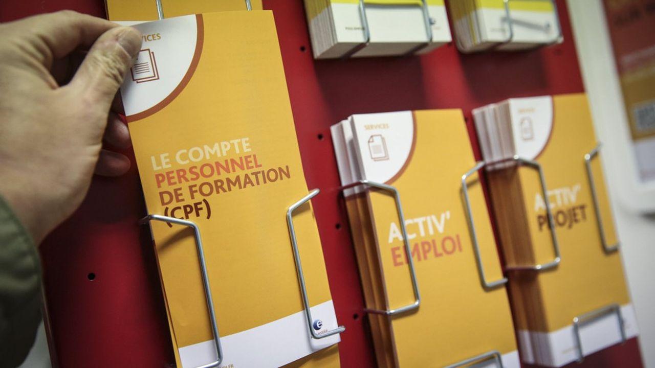 Chaque titulaire d'un CPF pourra utiliser librement les euros qui y sont crédités à partir du 21novembre.