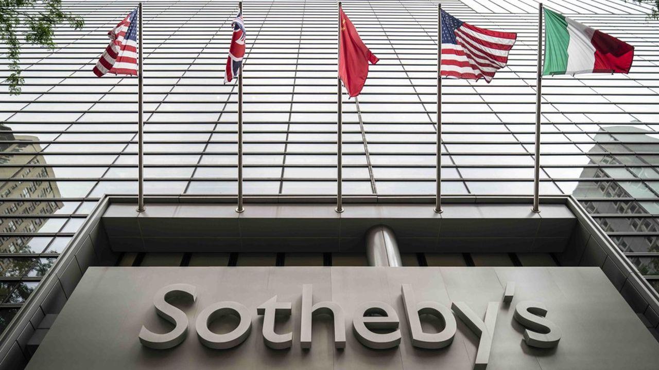 Le siège de Sotheby's, à New-York.