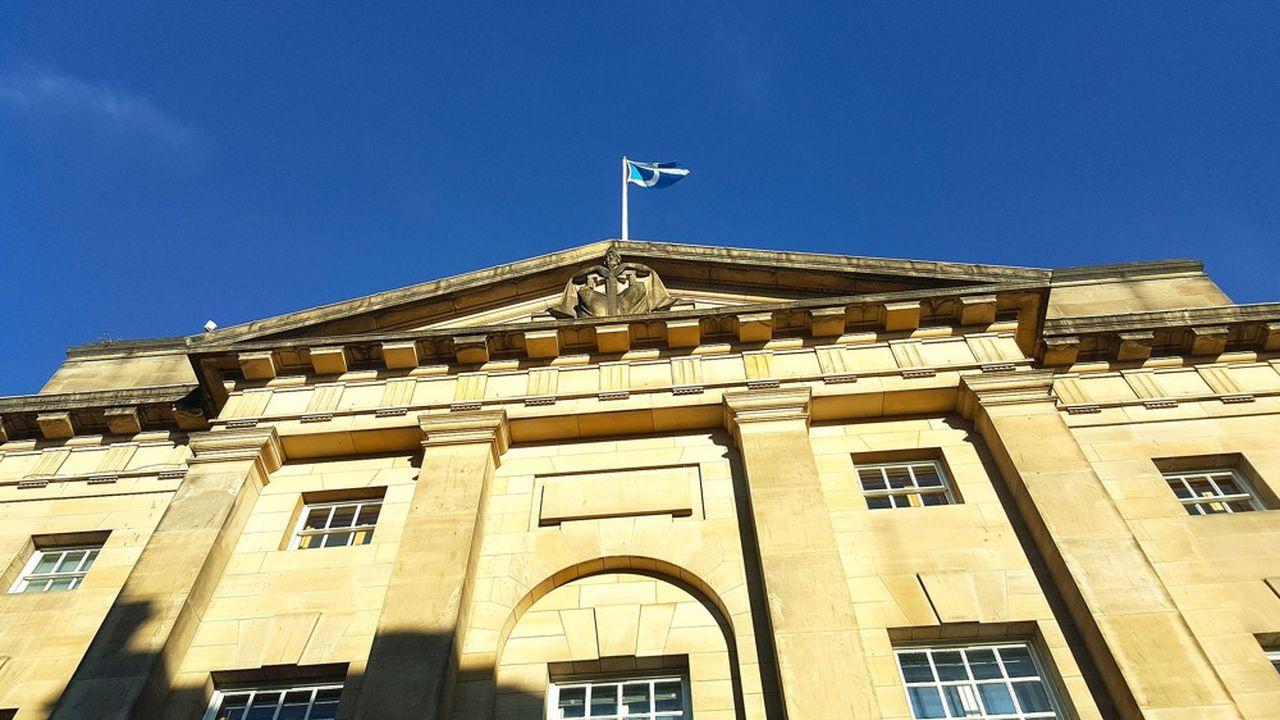 L e bâtiment de la Court of Session, la plus haute juridiction écossaise, à Edimbourg.