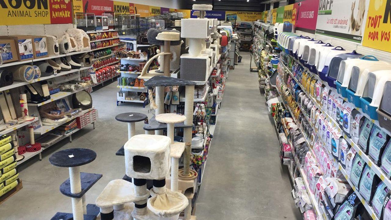 Kokoon Animal Shop affiche entre 4.000 et 5.000 références dans des magasins de proximité