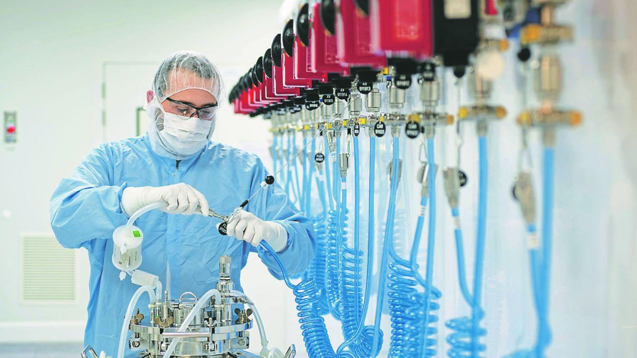 La campagne de vaccination antigrippe approche, les sites de production de Sanofi montent en puissance.