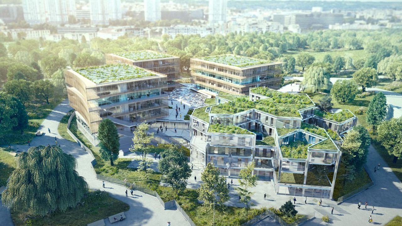 Associé, notamment, à Eiffage Immobilier, le groupe Léonard de Vinci a remporté la mise en juin dernier avec le projet « Open source »