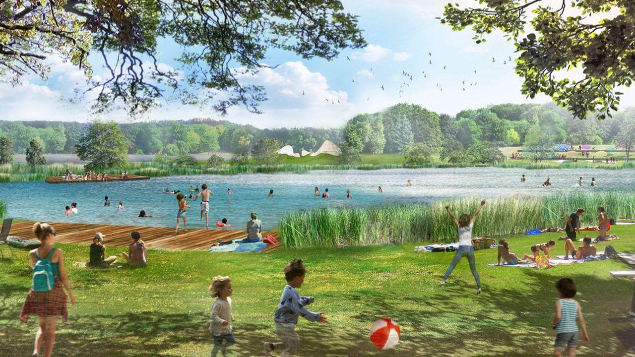 Ce nouveau lieu de baignade permettra d'accueillir de 2.800 à 3.000 baigneurs par jour.