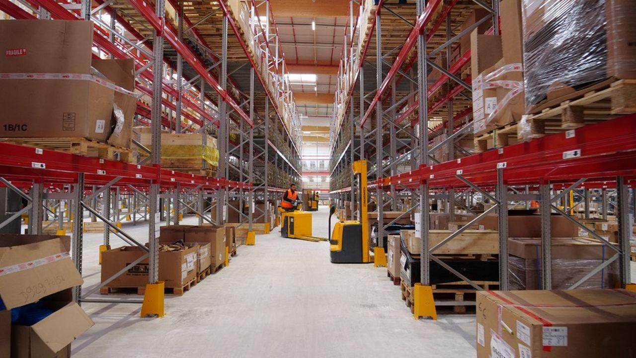 Le nouvel entrepôt de CBM va lui permettre de rationaliser ses expéditions de pièces de rechange vers un grand nombre de destinations dans le monde.