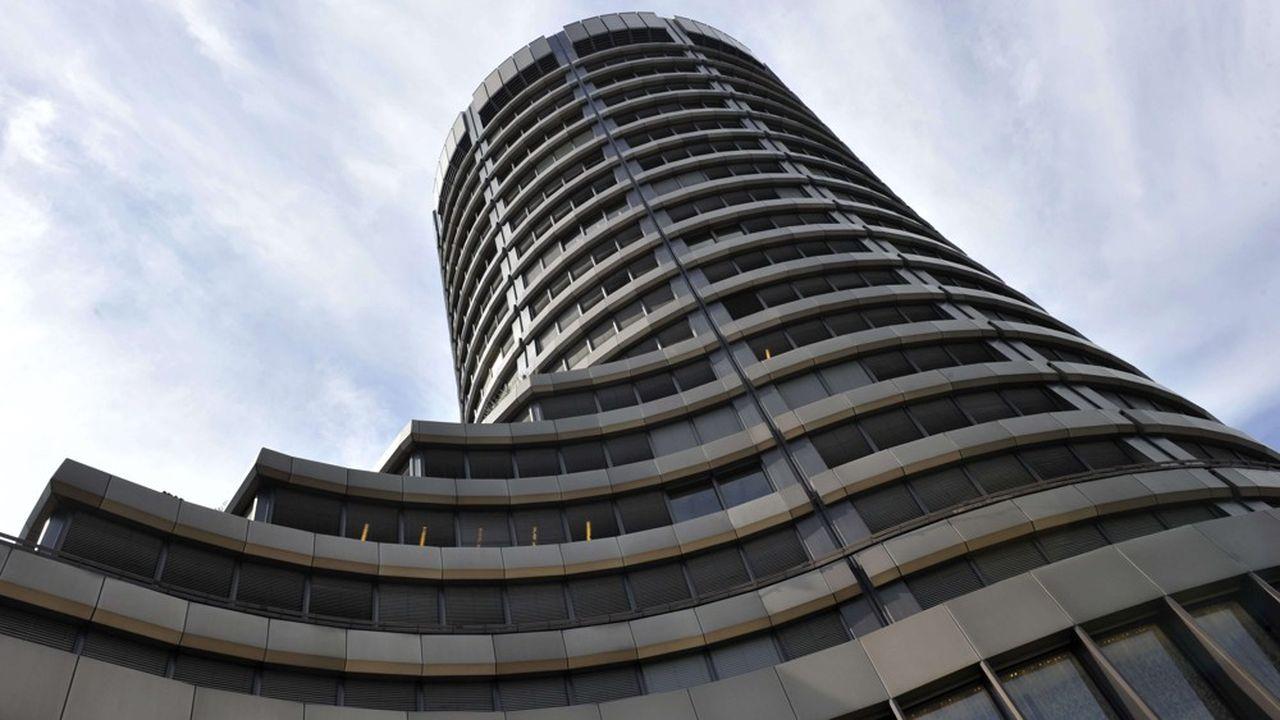 La Banque des règlements internationaux, à Bâle.