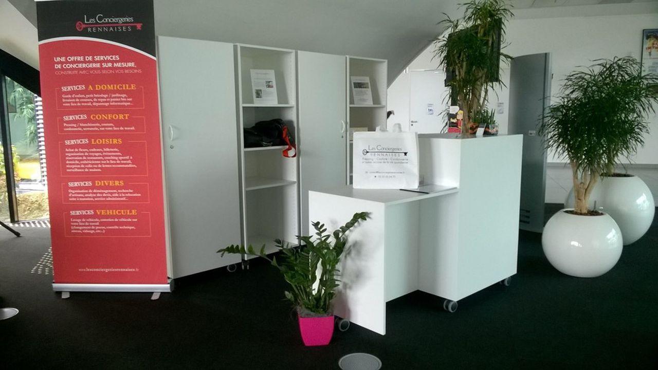 Sur le campus de Ker Lann, situé près de Rennes, les Conciergeries Rennaises interviennent pour 17 entreprises différentes.