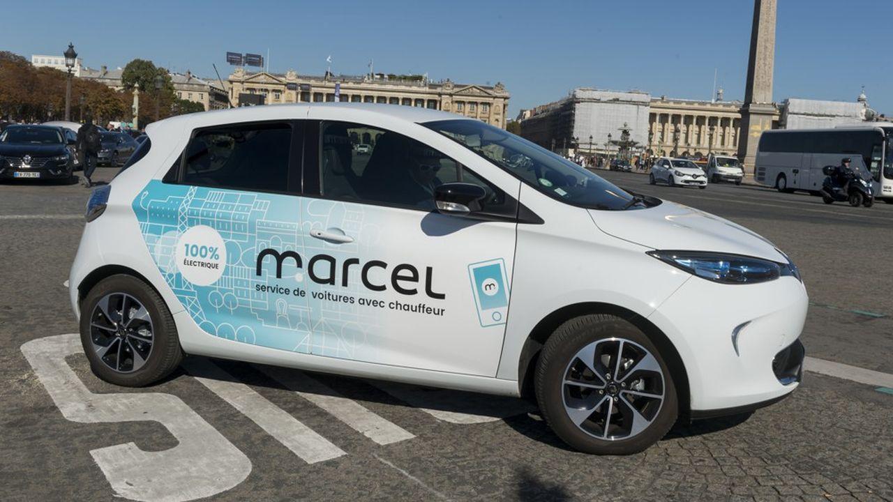 Les offres de Renault doivent affiner le savoir-faire du groupe en matière de mobilité verte, tout en mettant en valeur la production maison : la ZOE électrique est désormais très représentée chez le VTC Marcel.