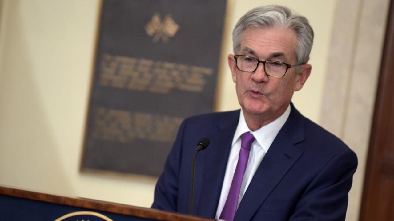 Jerome Powell, président de la Réserve fédérale