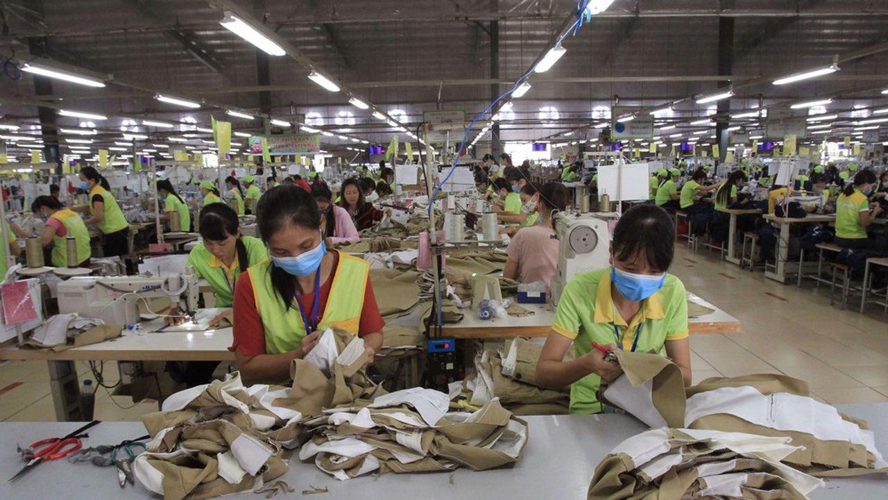 Que ce soit dans le textile ou l'électronique, le Vietnam a su tirer profit de la croissance des chaînes de valeurs globales pour deux de ses provinces.