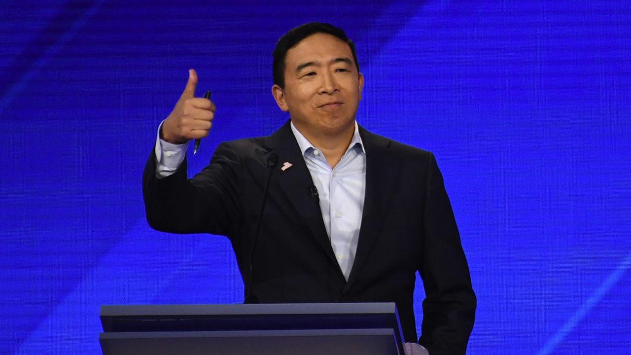 Andrew Yang, candidat à la primaire démocrate