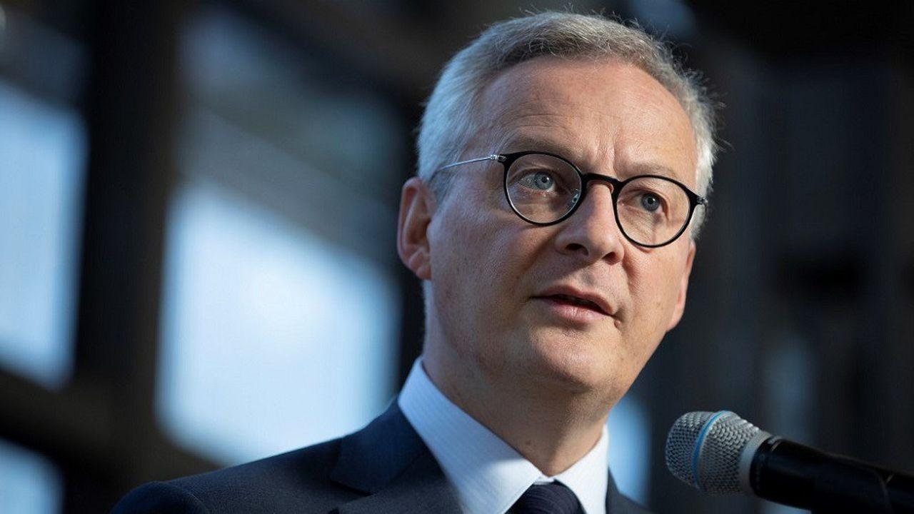 Bruno Le Maire s'est exprimé auprès du quotidien allemand «Die Welt».