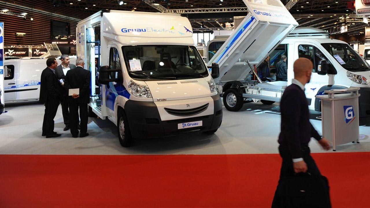 Le groupe Gruau est leader de la transformation de véhicules destinés aux professionnels.