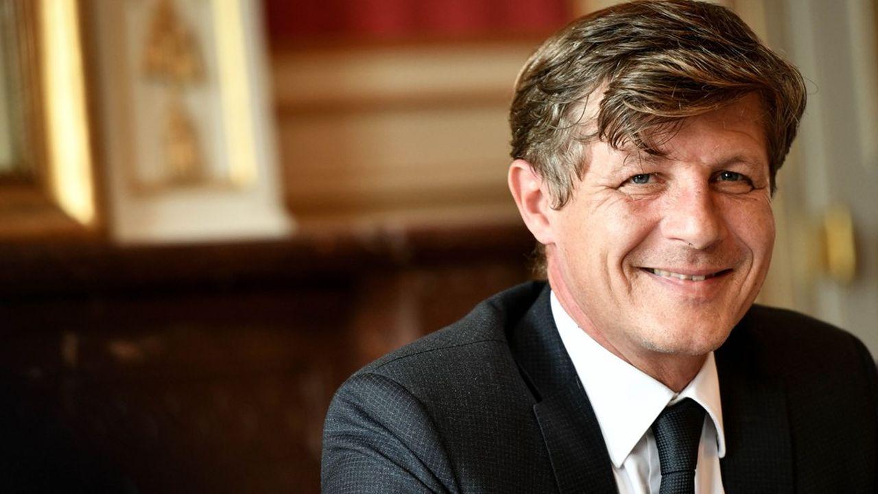 Nicolas Florian, le maire LR de Bordeaux.