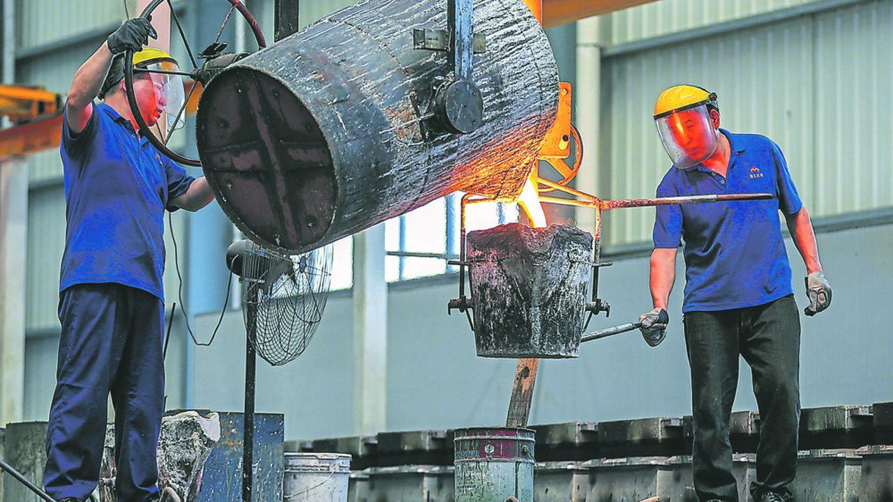 Les exportations chinoises vers les Etats-Unis, visées par les hausses de tarifs douaniers, sont en chute libre depuis le printemps dernier.