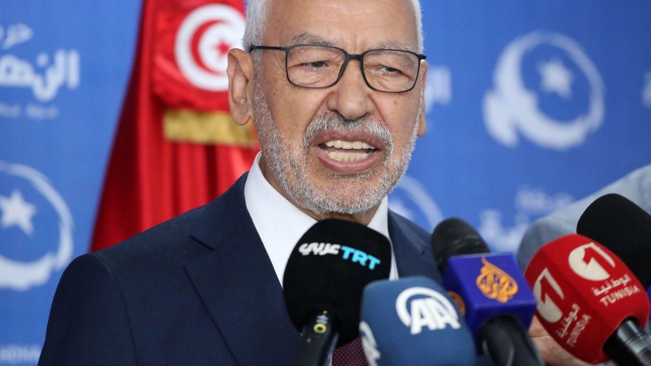 Ennahdha, le parti conservateur d'inspiration islamiste dirigé par Rached Ghannouchi (photo), devance légèrement Qalb Tounes (dissident de Nida Tounes), selon les résultats -provisoires- rendus publics mercredi par l'Instance supérieure indépendante pour les élections (ISIE).