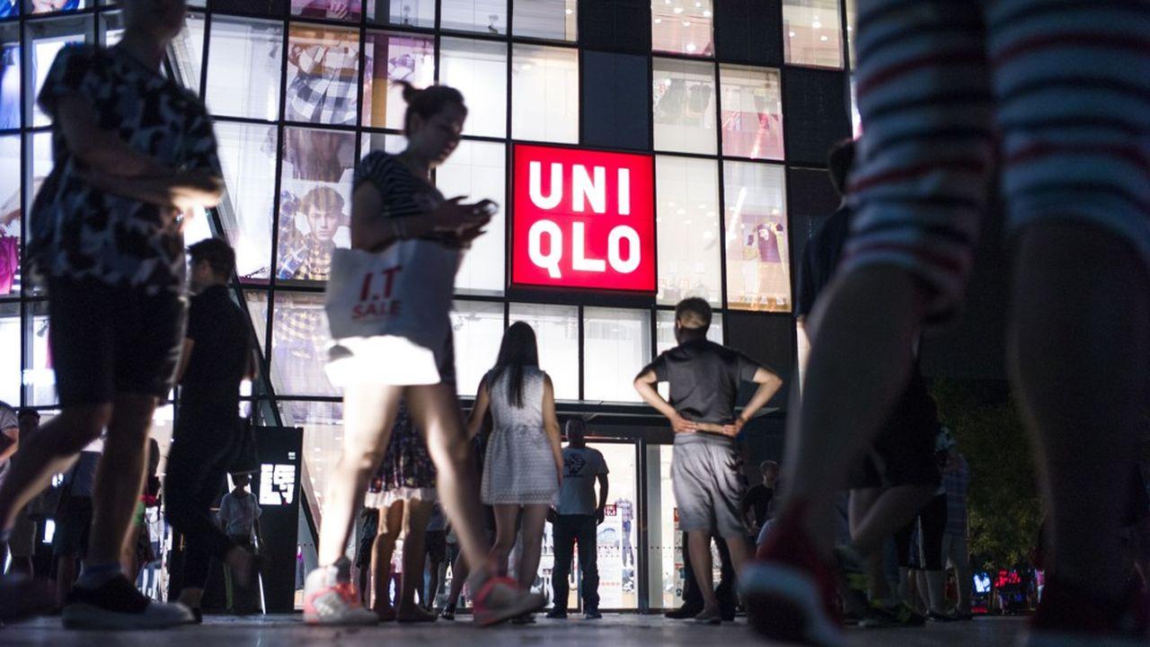 La marque Uniqlo, locomotive du groupe Fast Retailing, affiche comme d'habitude de solides performances à l'étranger