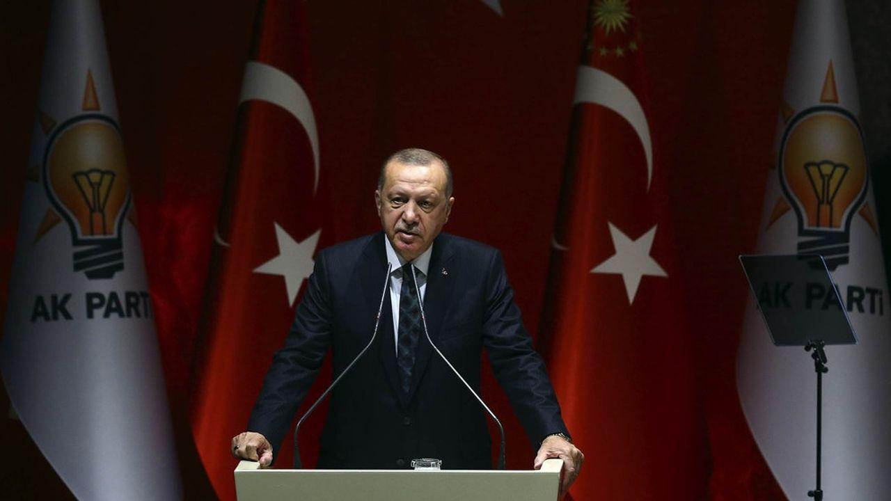 Le président turc, Recep Tayyip Erdogan, conduit une politique internationale bien éloignée du «zéro soucis avec les partenaires» affiché jadis.
