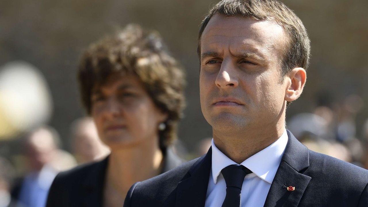 Emmanuel Macron (ici avec Sylvie Goulard, alors ministre des Armées) dénonce le «ressentiment» et la «petitesse» après le rejet de la candidate française pour la Commission européenne.