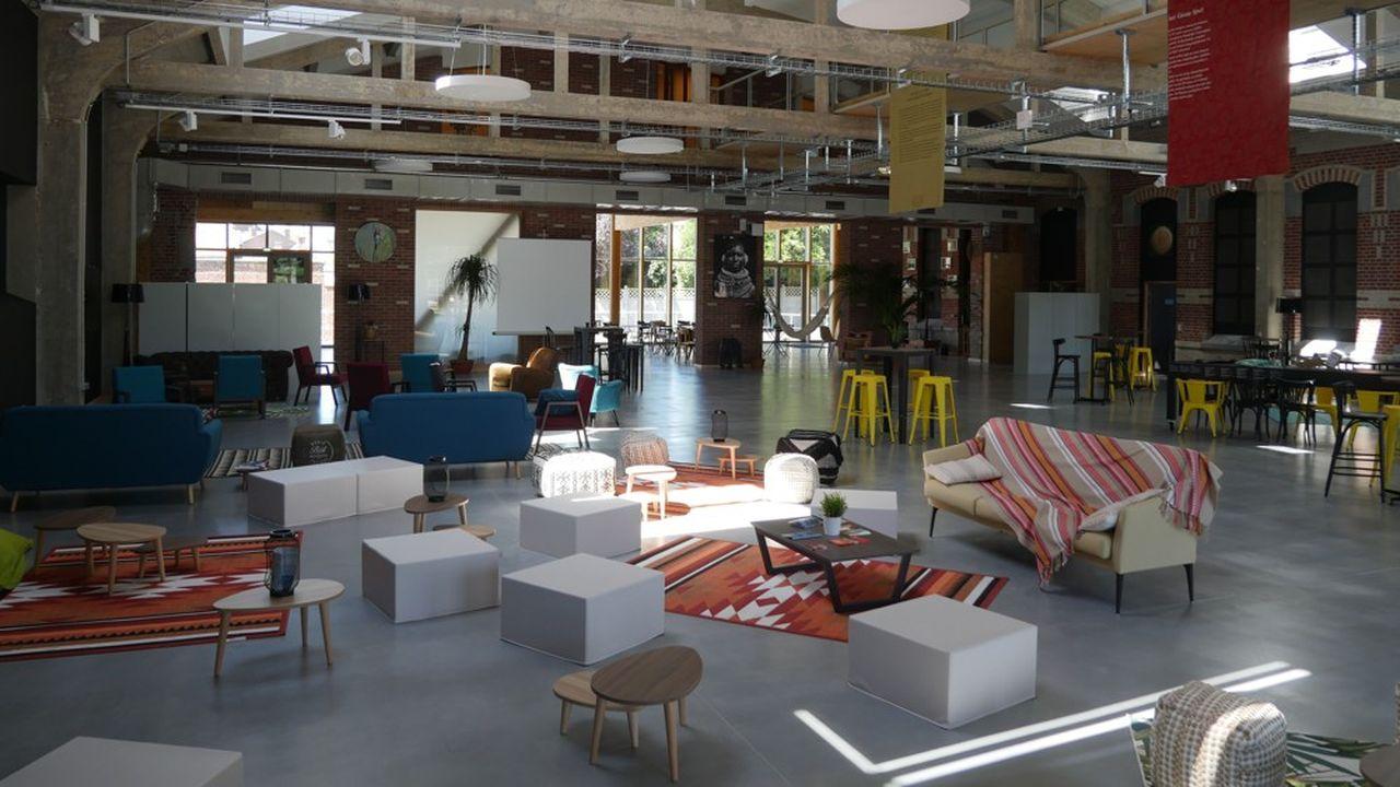 Le nouveau bâtiment du cluster s'étend sur 3.000mètres carrés et abrite plus d'une quarantaine d'entrepreneurs.