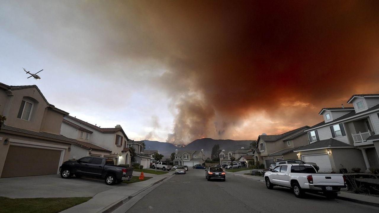 Les émissions des incendies en Califonie ont représenté plus de la moitié de celles du secteur industriel l'année dernière, selon un récent rapport des think tanks Next 10 et Beacon Economics.