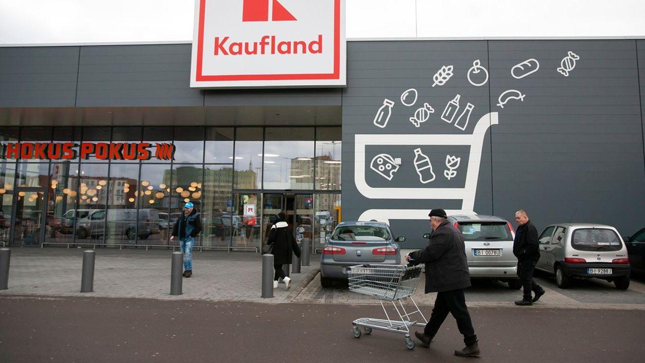 La consommation est l'un des principaux moteurs de la croissance en Pologne. Ici un supermarché Kauflandqui appartient au groupe allemandSzwartz.