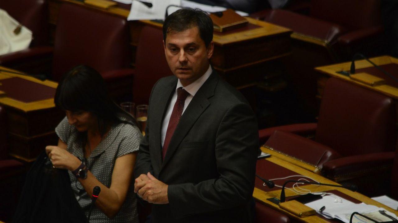 Le ministre grec du Tourisme, Haris Theoharis, veut diversifier l'offre touristique de son pays.