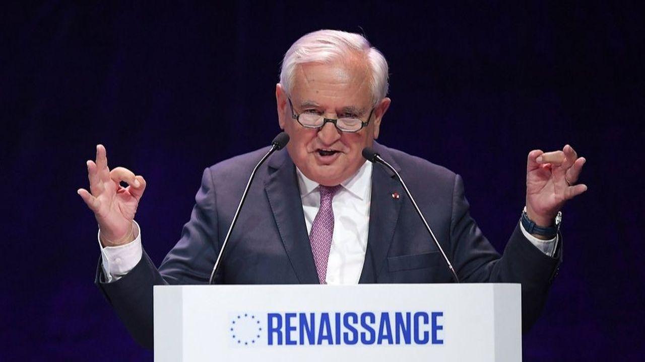 À Strasbourg le 11mai dernier, Raffarin avait juré sa fidélité au centre droit en votant pour la liste Renaissance portée par LREM