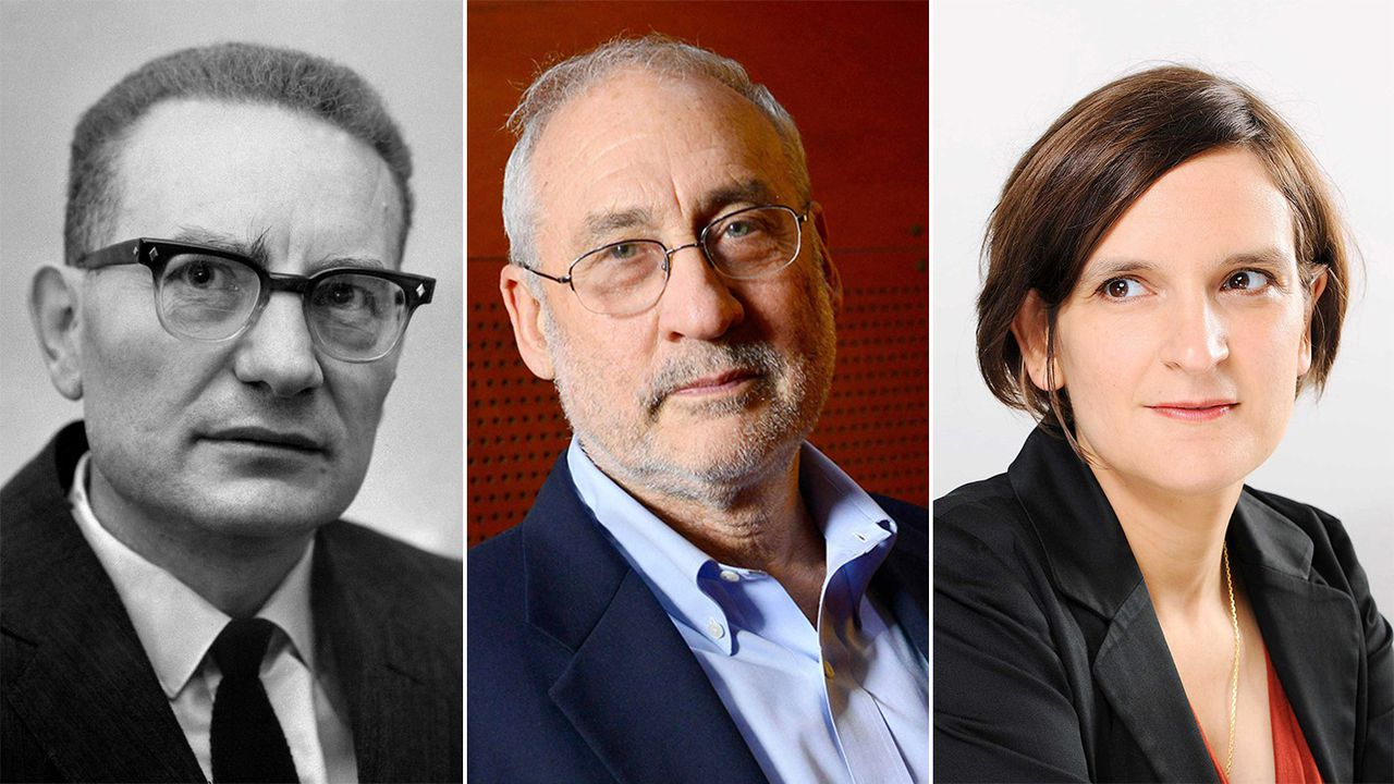 Paul Samuelson, Joseph Stiglitz et Esther Duflo