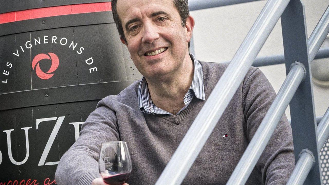 Pierre Philippe, directeur de la cooperative Les vignerons de Buzet.