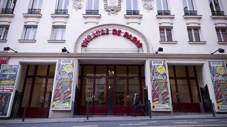 Le Théâtre de Paris, la plus grande salle de spectacle du groupe (1.100 places) dans le IXe arrondissement.