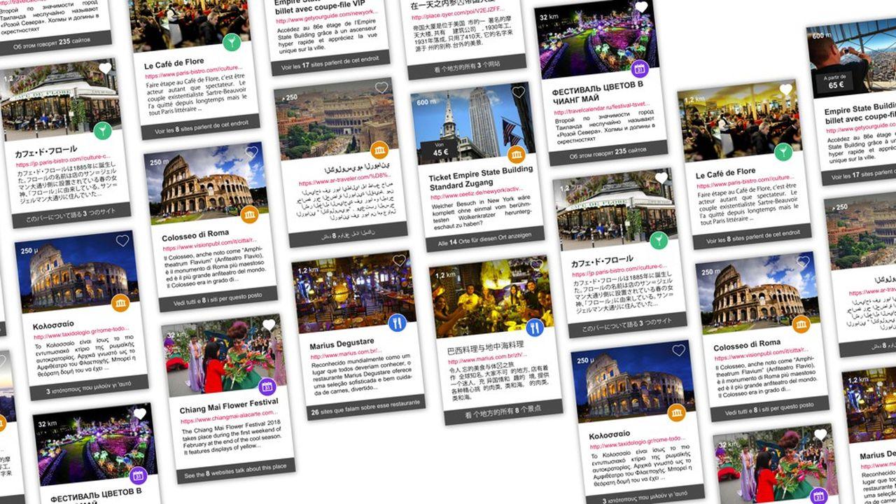 La base de données «World is Mine» élaborée par la société nancéenne Cirkwi recense deux millions de points d'intérêts touristiques à travers le monde.