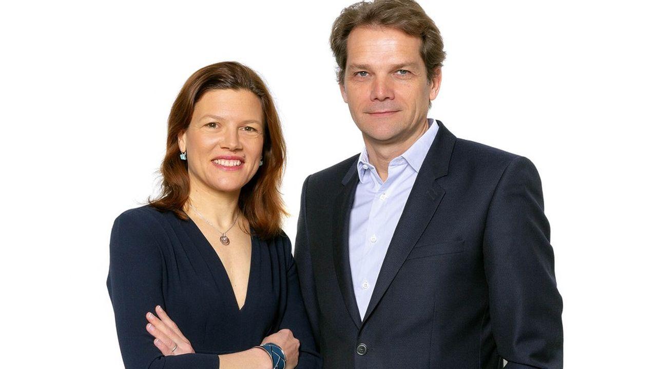 Fanny Letier, ex-responsable des programmes Accélérateurs PME de bpifrance, et François Rivolier, ex-dirigeant de Société Générale Capital Partenaires, ont créé Geneo au début de l'année.