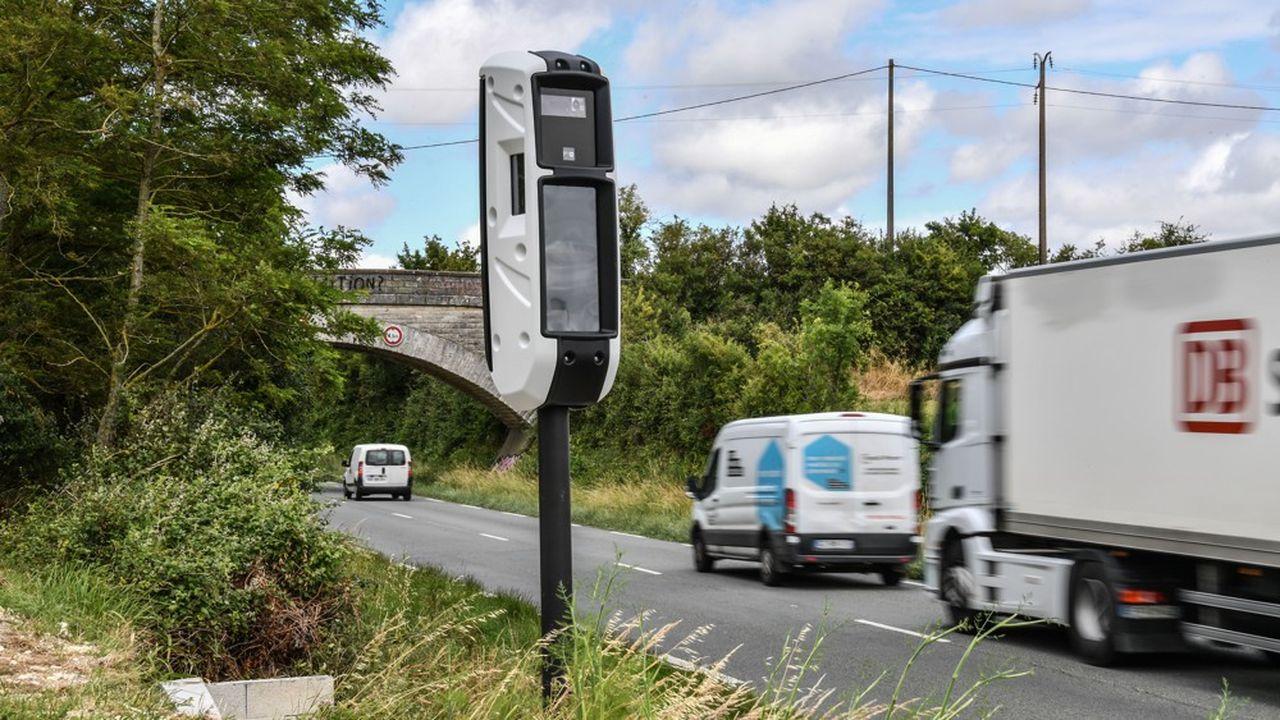 Pour la première en quinze ans, les recettes des radars routiers ont baissé en 2018.