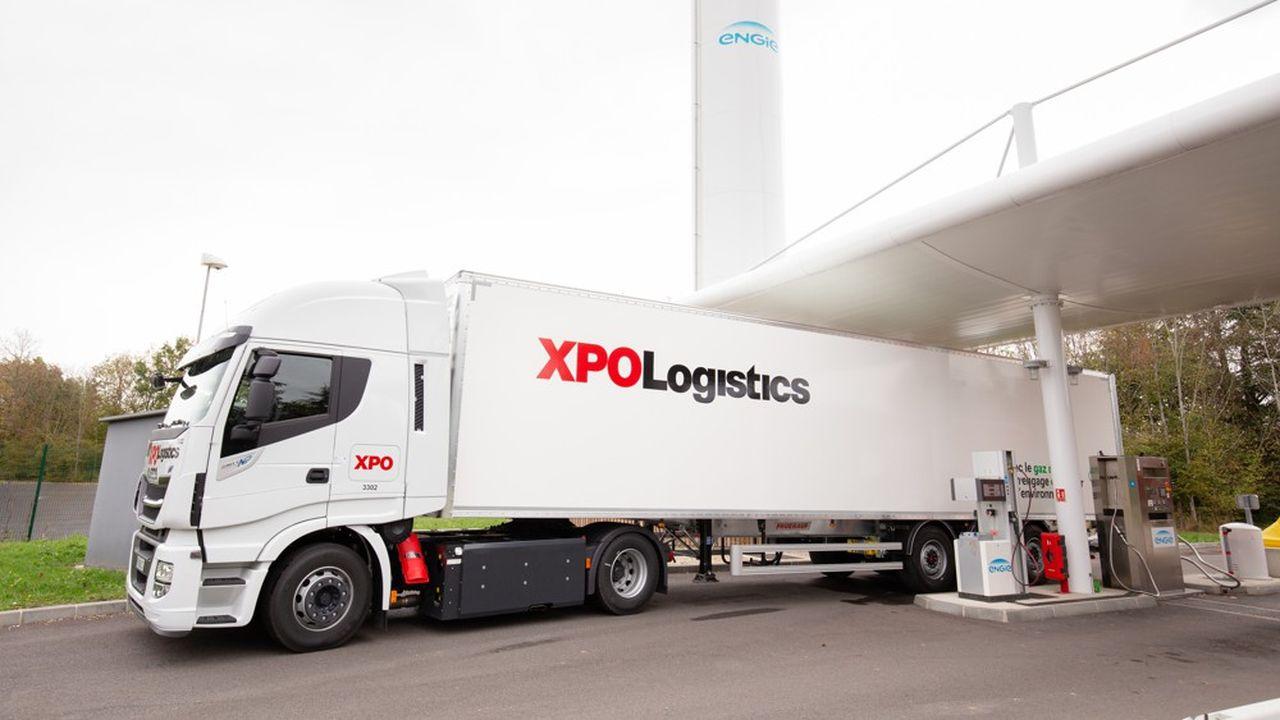 Pour être rentable, chaque camion alimenté au gaz doit rouler plus de 100.000 kilomètres par an.