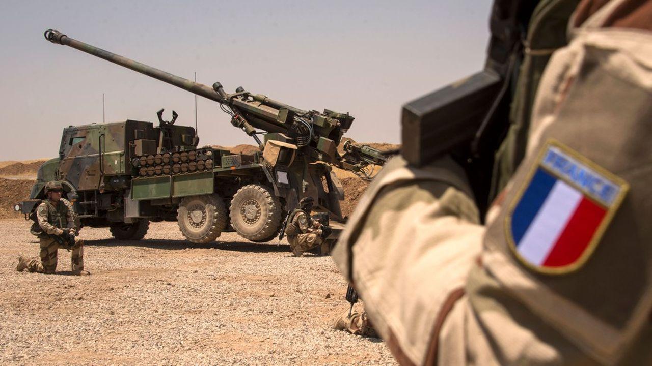Les soldats français déployés en Irak et Syrie dans le cadre de la coalition internationale contre Daech, ont utilisé le canon Caesar en deuxième échelon des commandos utilisés au plus près des combats.