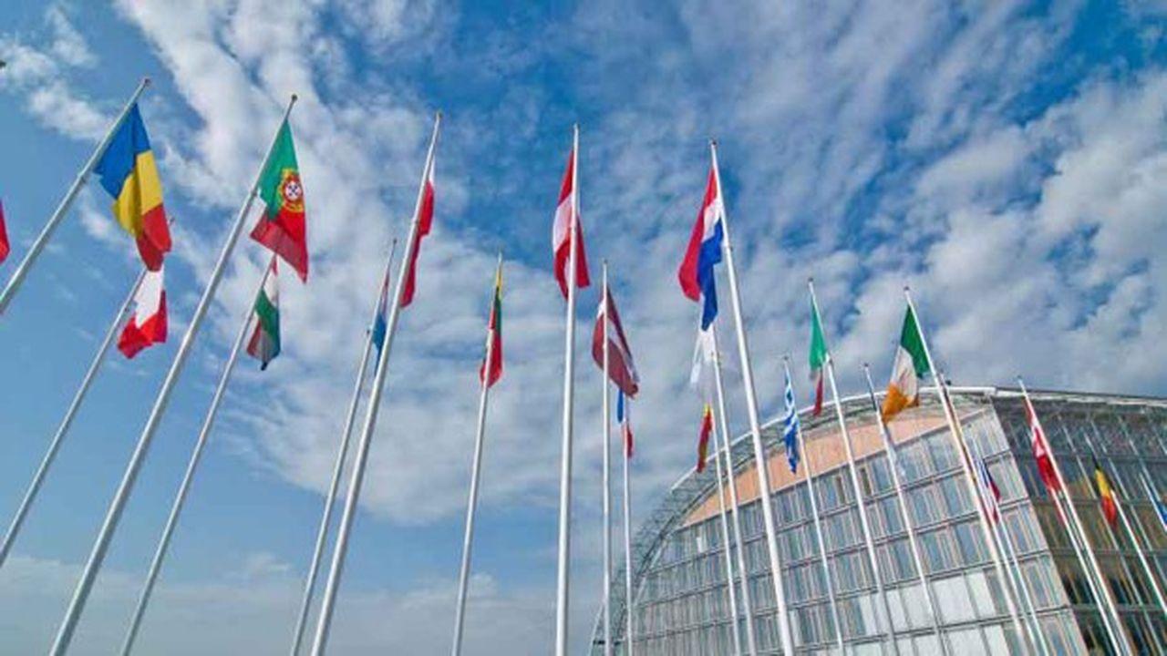 Le siège de la Banque européenne d'investissement à Luxembourg.
