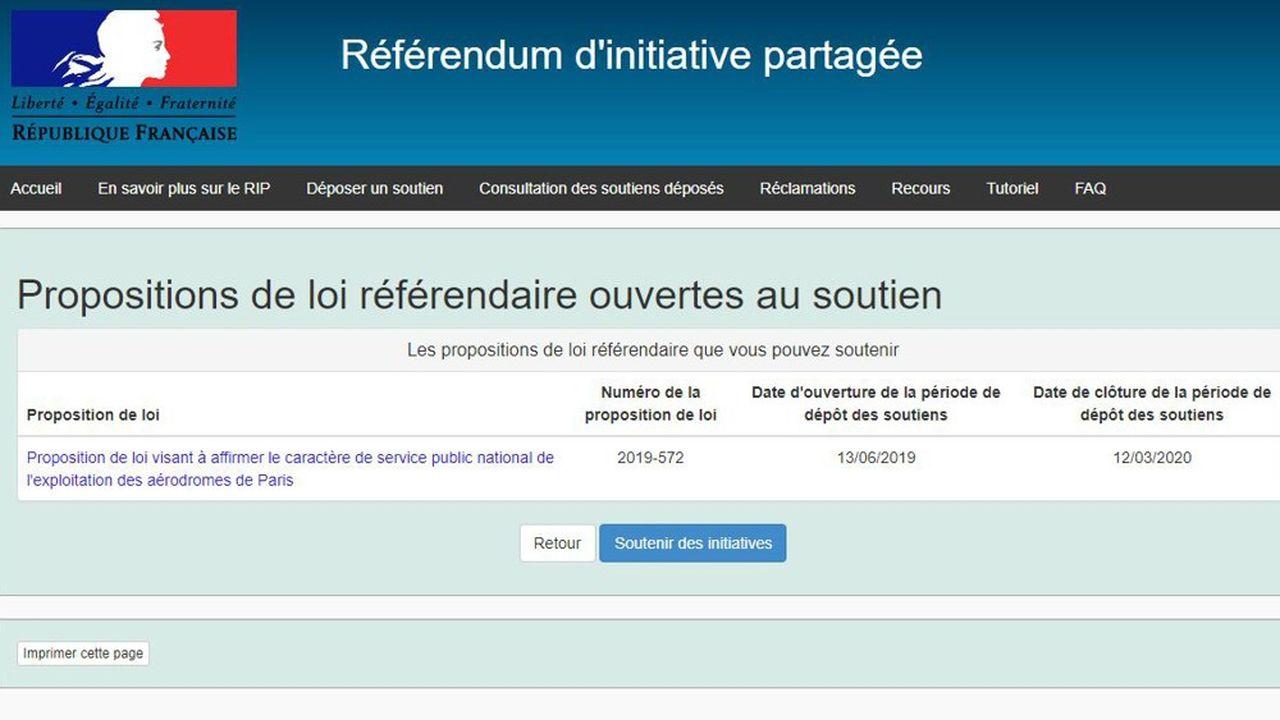 Pour être validée, la proposition de loi référendaire doit être approuvée par un dixième des électeurs inscrits, soit 4.717.396 personnes. Début octobre, 864.000 soutiens étaient enregistrés.