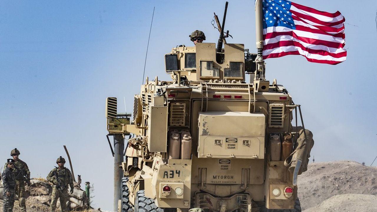 Quelque 1.000 soldats américains se retirent de Syrie, laissant derrière eux un petit contingent de 150 militaires sur la base d'Al Tanf, dans le gouvernorat de Homs.